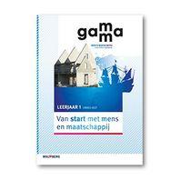 GaMMa - 2e editie Van start met mens en maatschappij themaboek 1 vmbo-kgt 2016