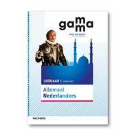 GaMMa - 2e editie Themaboek Allemaal Nederlanders themaboek 1 vmbo-kgt 2016