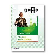 GaMMa - 2e editie Themaboek Allemaal Nederlanders themaboek 1 vmbo-bk 2016