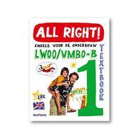 All Right! - 2e editie textbook 1 vmbo-b lwoo