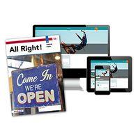 All Right! - MAX boek + online 1 vmbo-bk 4 jaar afname