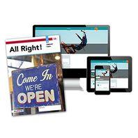 All Right! - MAX boek + online 1 vmbo-kgt 4 jaar afname