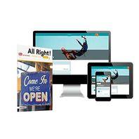 All Right! - MAX boek + online 1 vmbo-kgt 6 jaar afname