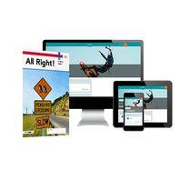 All Right! - MAX boek + online 2 vmbo-bk 2 jaar afname