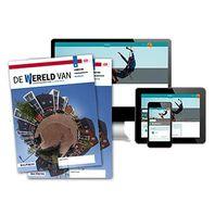 De wereld van - MAX boek + online 2 vmbo-bk 2 jaar afname