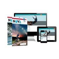 Nova NaSk - MAX boek + online 1, 2 vmbo-kgt 2 jaar afname