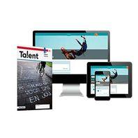 Talent - MAX boek + online 1 vmbo-bk 2 jaar afname