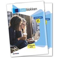 Taalblokken leerwerkboek Nederlands 3F Deel A + B 2019