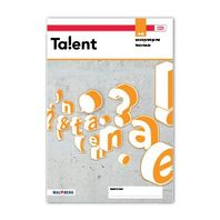Talent - MAX vakboek 4, 5, 6 havo vwo 2021